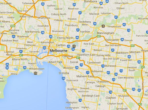 Melbourne_map