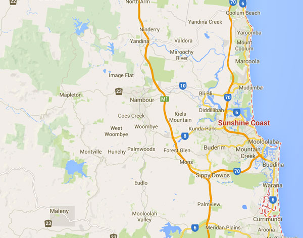SunshineCoast_map